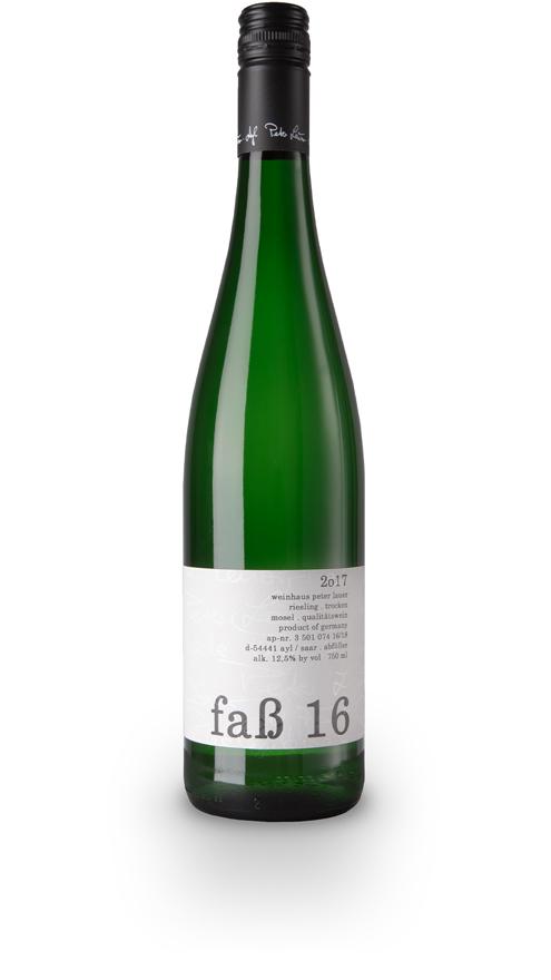 Lauer Wein Riesling Fass 16