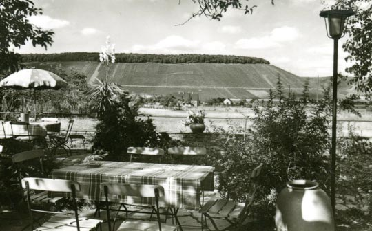 A view of Ayler Kupp from the garden