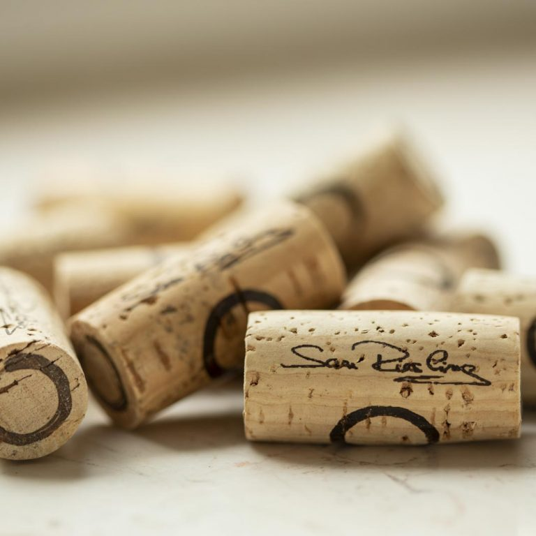 Corks of Riesling wines