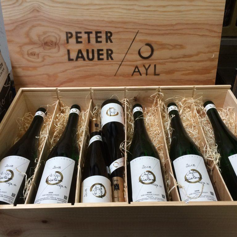 Peter Lauer wooden box